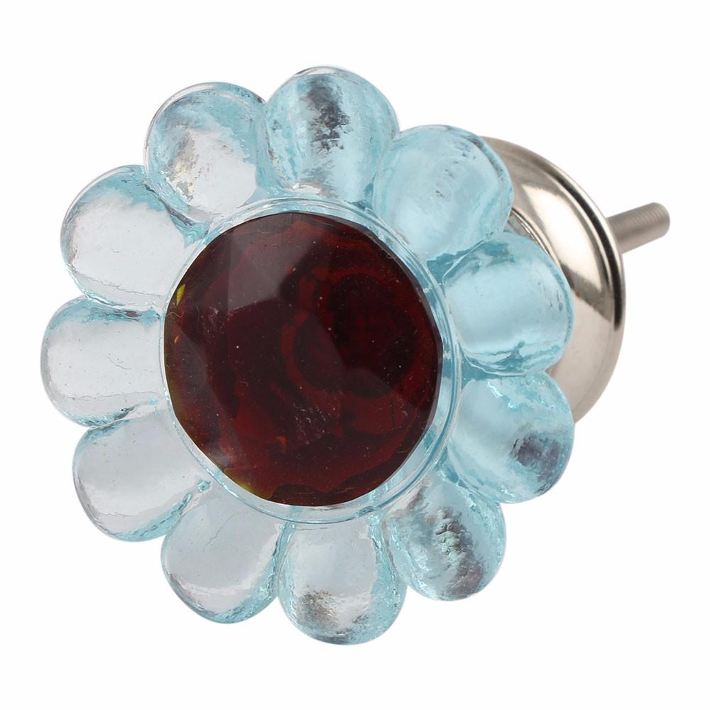 Handgemachte Schrank Rosa & Grüne Indische Glas Türgriffe Griffe ...