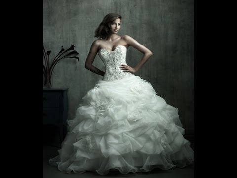 Beautiful Bridal Dresses! - Cute Bridal gowns ideas for wedding bride sexy lacy stylish white dress