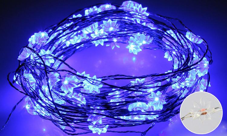 geschenken voor gasten kerst led koperdraad string led verlichting