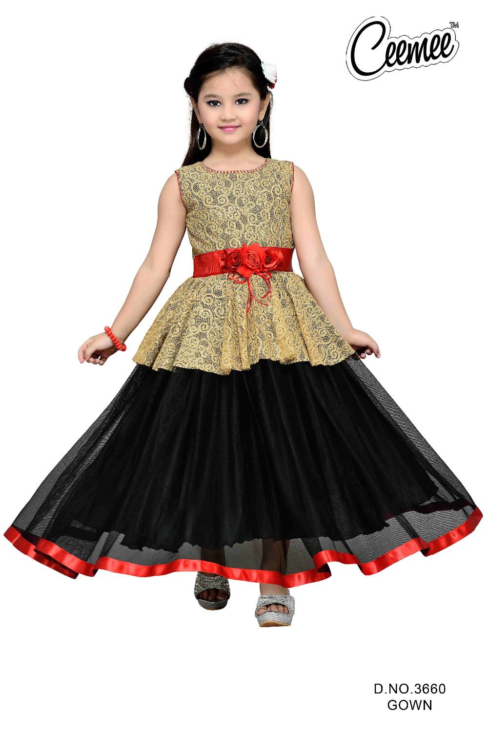 65950886b New Beautiful Designer Girls Long Frock - Buy Children Wear Long ...