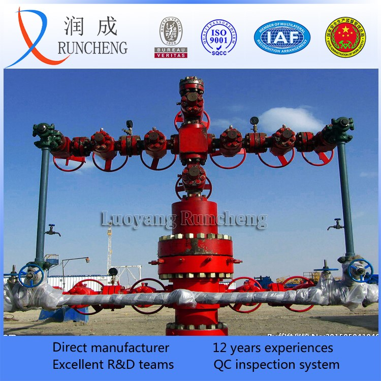 Gas-oil Field Used Wellhead Christmas Tree Petroleum Drilling Equipment - Buy Christmas Tree ...
