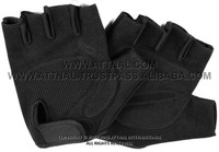 Fitness and Exercise Gloves Combination of Amara Leather and Padded Palm
