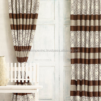 Latest Fancy Fashion Curtain Designs 2016 For Hotel Home