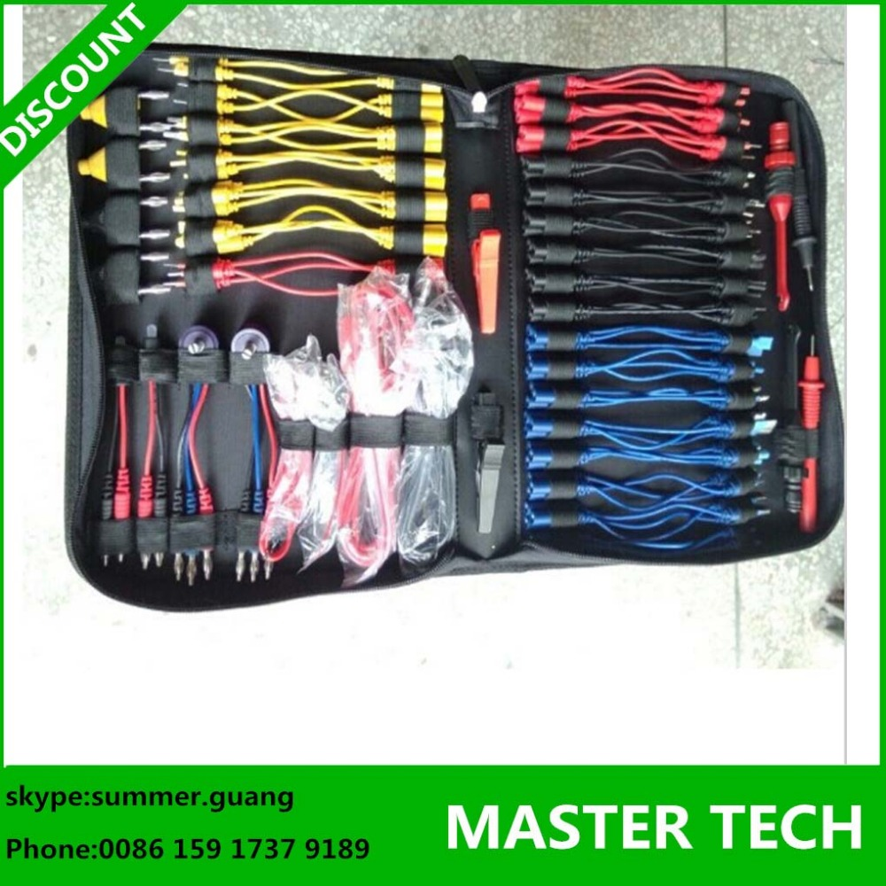 Автомобили комплект подключения помощь кабели MST-08 испытаний цепи кабели для автомобильные транспортные средства диагностический разработки в в мешок ткани
