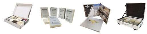 Quartz Stone Sample Binder / Book / Folder - Tsianfan