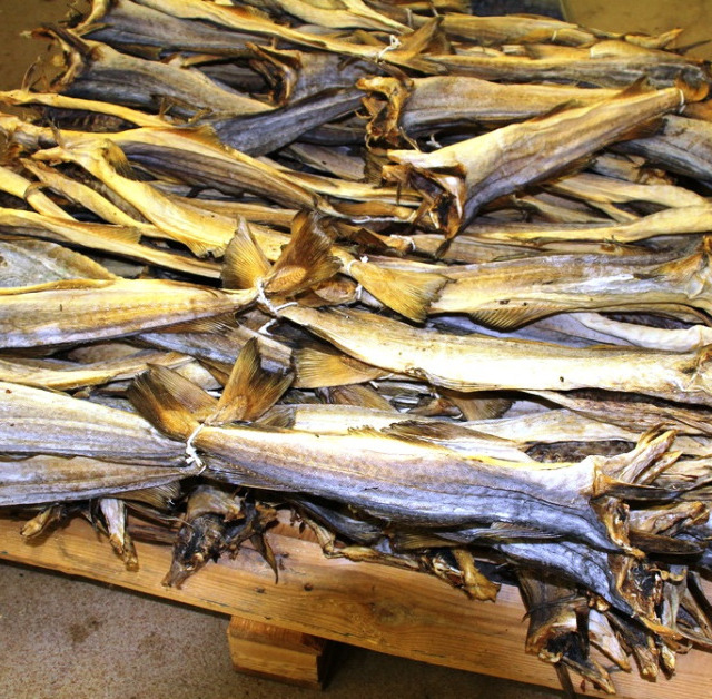 Dried Cod and Other Variety Stockfish