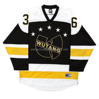 custom ice hockey jersey Embroidered or Sublimation logo Tackle Twill name and number
