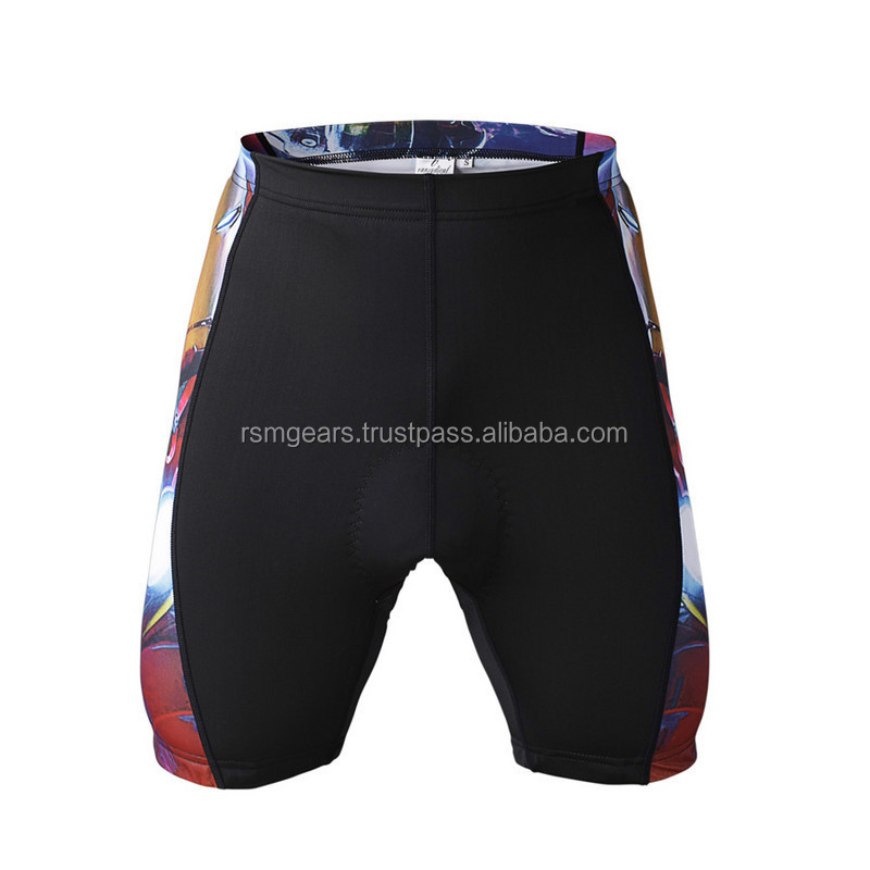 Custom compression Padded mens Sports short