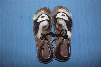69a957e02 African Zulu Sandals - Buy Naked Sandals Product on Alibaba.com