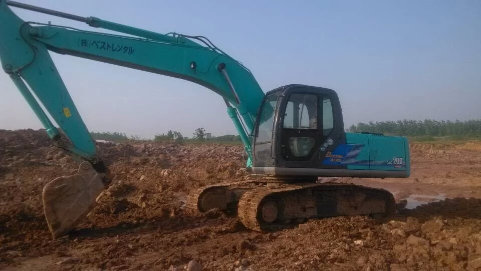Used kobelco SK200 excavator SK200-10 for sale, second hand kobelco  excavator SK200, View kobelco sk200-10 excavator, KOBELCO Product Details  from WEI