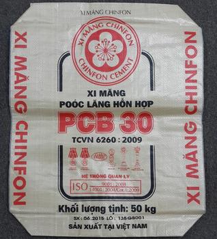 Vietnam 50kg Pp Cement Bag