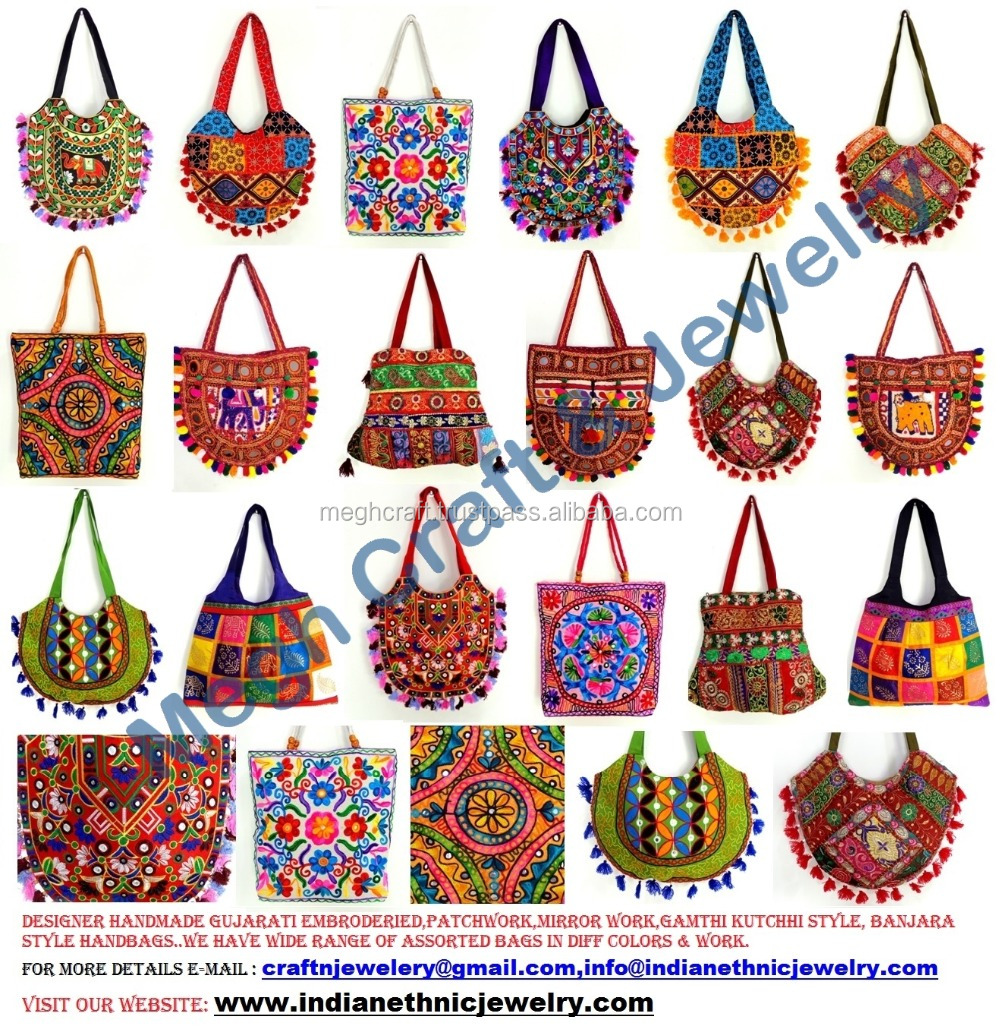 Wholesale Kutch Embroidered Shoulder Bag Banjara Patch
