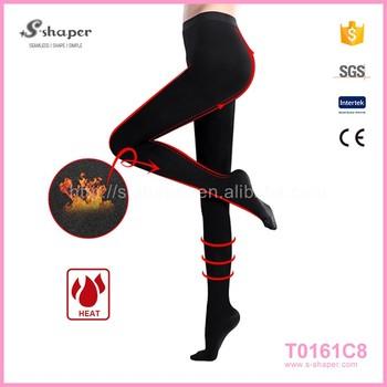 Fashion Women Thigh Slim Pantyhose Fat Burn Compression Thigh Shaping Pantyhose