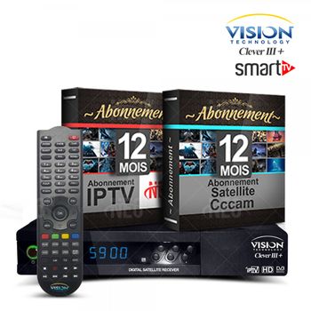 Vision Clever 3 + Neotv Iptv - Buy Clv3 Product on Alibaba com