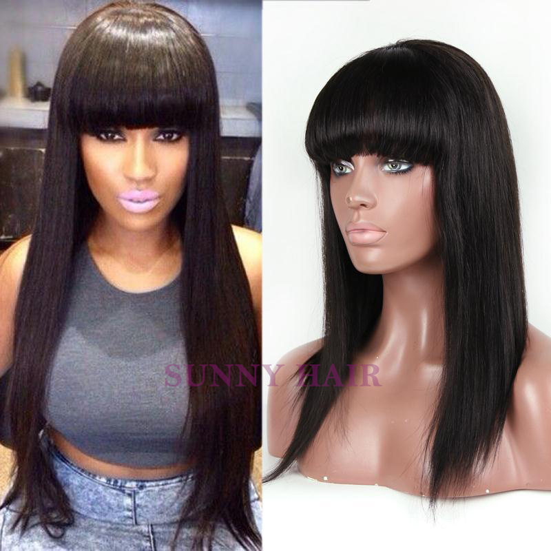 Prime China Bang Lace Front Wig Wigs Ideas Hairstyles For Men Maxibearus