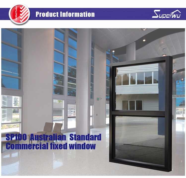 AS2047 NFRC Impact resistance hurricane proof arch fixed round window