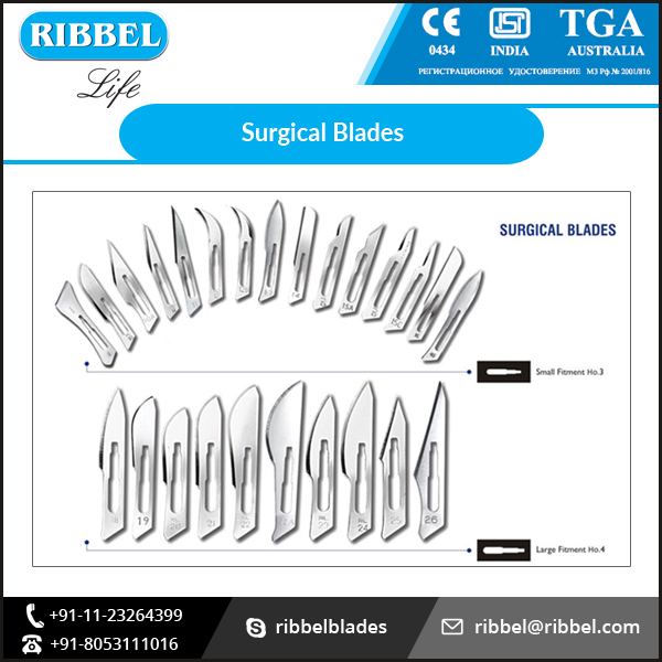 2017 Latest High QualitySurgical Blades Available in Various Sizes