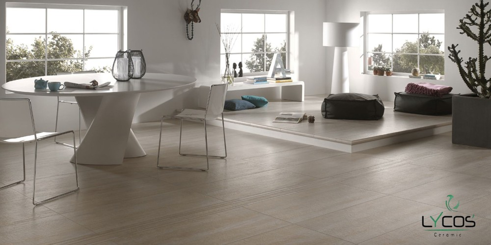 600x600 Attractive look Porcelain Double Loading Floor Tiles