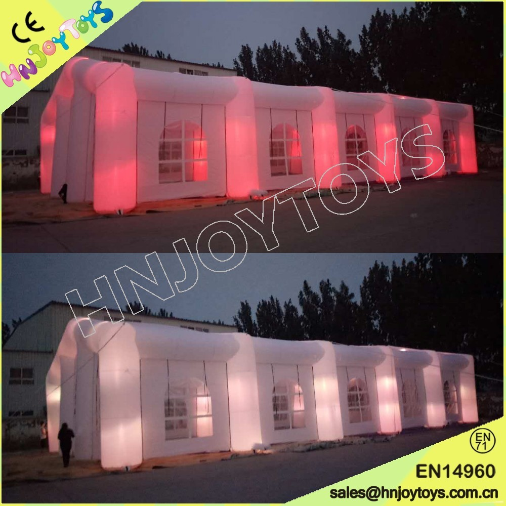 Outdoor Event Giant LED Light Inflatable Tent From HNJOYTOYS Inflatables