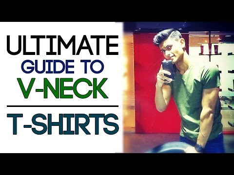 MAN's GUIDE TO V-NECK T SHIRTS | Ultimate Men's SUMMER T-SHIRTS | Mayank Bhattacharya
