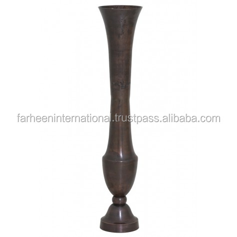 Metal Flower Vase Large-204316