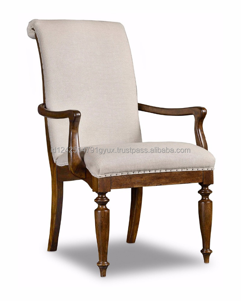 Vintage Upholstered Solid Teak