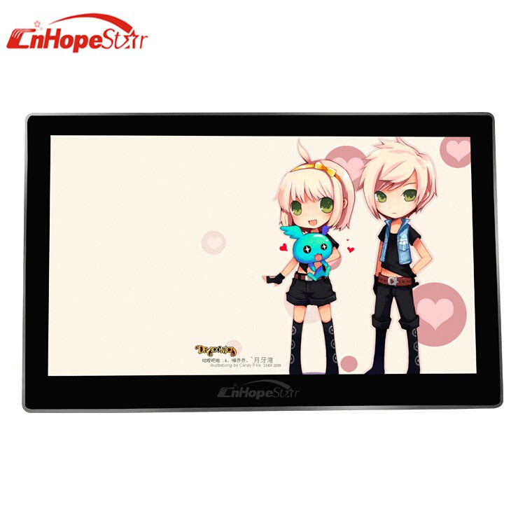 15 inch metal case wall mounted LCD advertising player