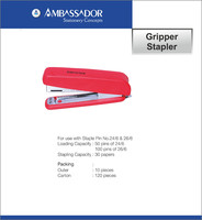 Gripper Stapler For Office Use With Staple 24/6 & 26/6 - Buy ...