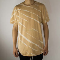 Long Elongated Mens T-Shirt Butter Tiger Tie/All Over Sublimation t-shirt short/Cotton t-shirt/100% cotton shirt/pc shirt