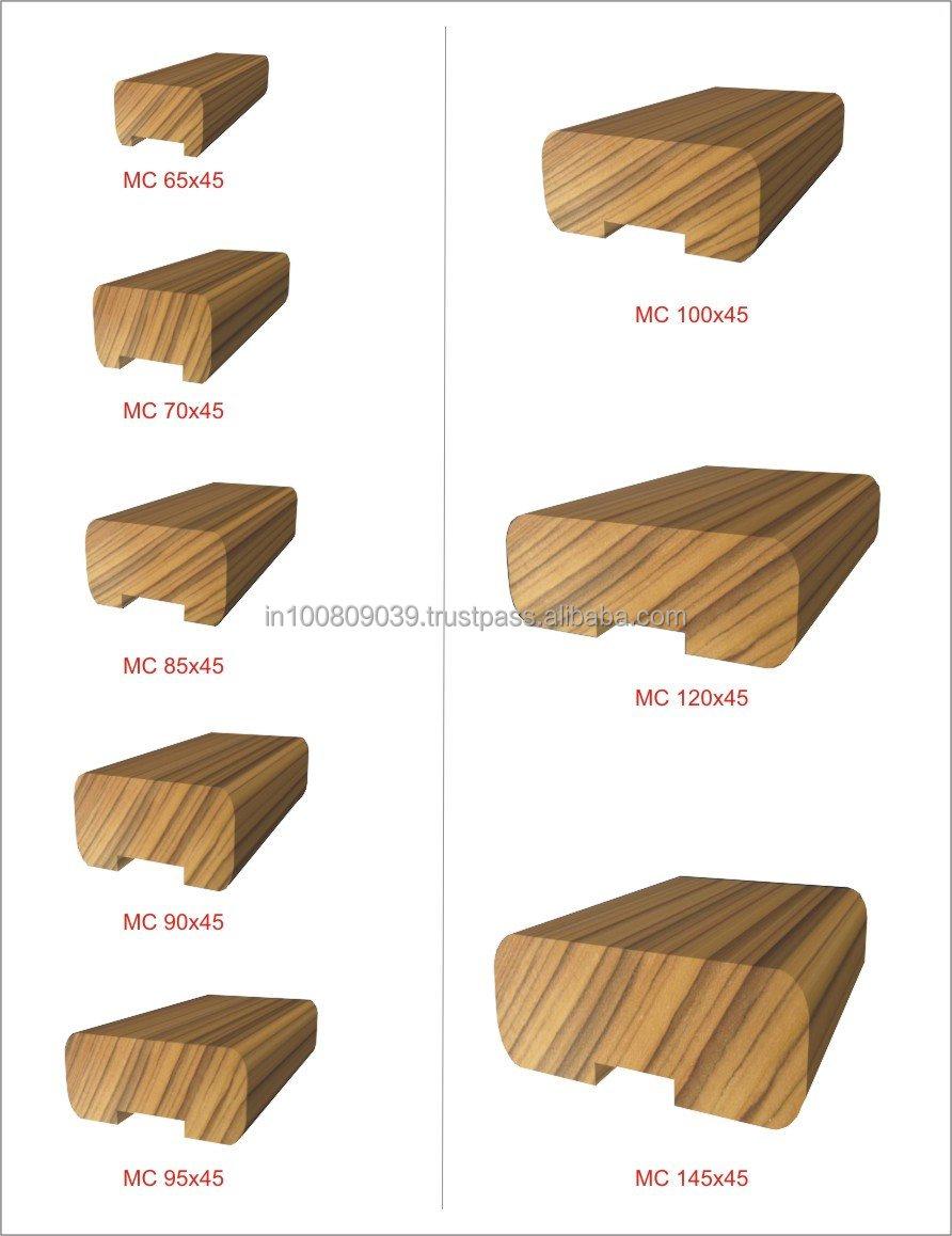 wood handrail profiles erhltlich holz handlauf fr moderne. Black Bedroom Furniture Sets. Home Design Ideas