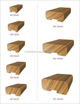 Erhaltlich Holz Handlauf Fur Moderne Treppen Mindestens Rate Buy