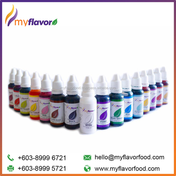 My Flavor Best Quality Gel Based Food Coloring Malaysia - Buy Food ...
