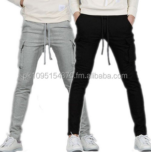 Mens Sports Cotton Track Pants Mans Warm Fleece Trousers Sweat Pant Fleece Trouser Fitting