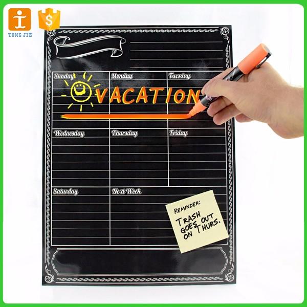 Flexible Magnetic Black Dry Erase Chalkboard - Buy Flexible Magnetic ...