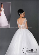 HOT SALE Ball Gown Bridal Wedding Dress Dramatic Plunging Alluring