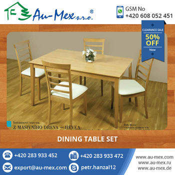 Exclusive designs dining table set at limited stock for Exclusive dining table designs