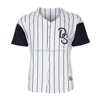 e1658bbad77fb Jersey de béisbol adulto sublimación y bordado bordado camisetas de béisbol