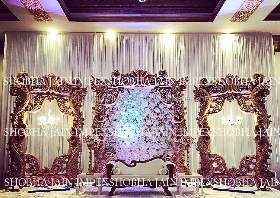 Fiber Frame Wedding Stage - Buy Muslim Wedding Stage,Wedding Mandap ...