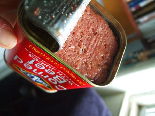 CANNED CORNED RINDFLEISCH