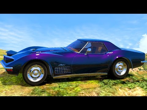 Chevrolet Corvette Manta Ray Car Wash | Classic Sports Car Wash | Expensive American Car Wash Videos