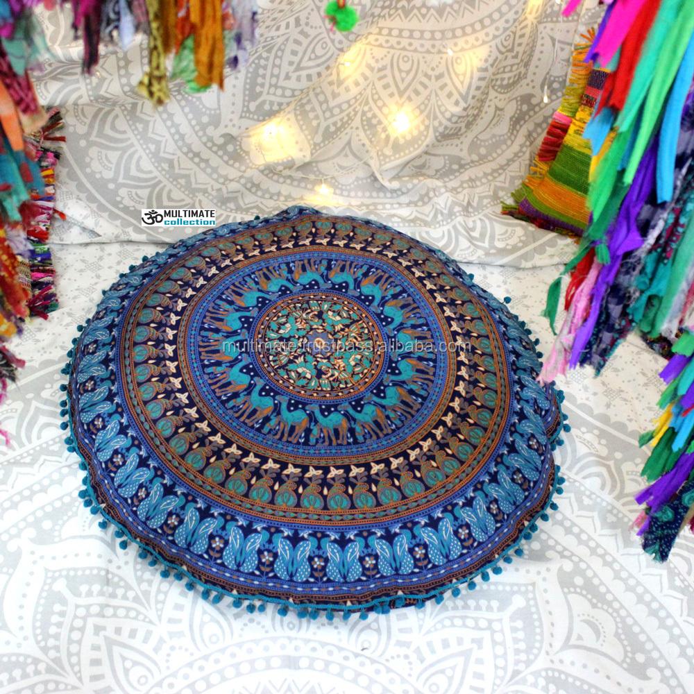 pas cher boh me floral tapisserie taie d 39 oreiller chambre coussins ethniques canap oreiller. Black Bedroom Furniture Sets. Home Design Ideas