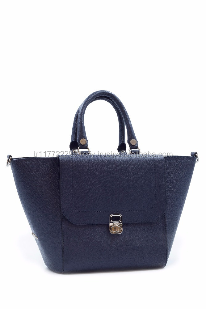Genuine Leather Latest Tote Bag