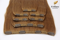Super Offer!!! Cheap 100% Real Human Remy Double Drawn Clip in Hair Extensions