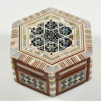 Egyptian Mother of pearl Boxes