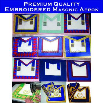 Craft Provincial Regalia,Masonic,Knights Templar And Fraternal Regalia  Aprons And Collars - Buy Masonic Regalia Collars,Royal Arch Regalia  Apron,Royal