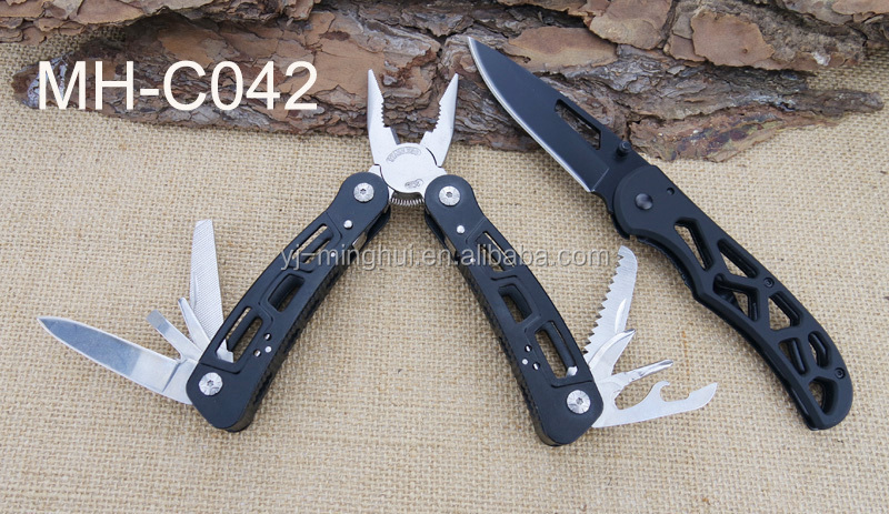 Hot selling outdoor knife and plier set