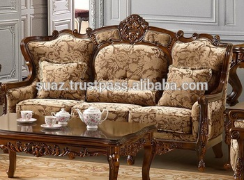 Pakistan Handmade Furniture Sofa Set Traditional Pakistan Furniture Arabic Teak Wood Sofa Set