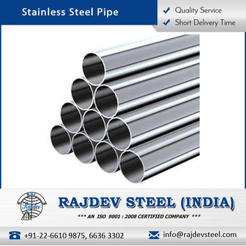Widely Used 304 Stainless Steel Pipe With 9mm Thickness At Competitive  Price - Buy Top Quality Stainless Steel Pipe,Seamless Heat Exchanger Tubes
