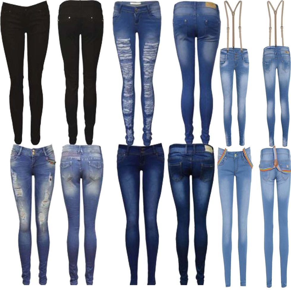 Fancy Ladies Jeans, Fancy Ladies Jeans Suppliers and Manufacturers ...