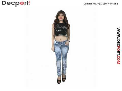Buy Online Womens Jeans - Girls Denim Jeans